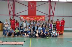 Tehnici de prim-ajutor predate de voluntari SMURD în școlile din Iclod și Livada
