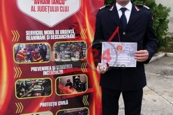 Paramedic SMURD din Dej, premiat pentru curajul său – VIDEO