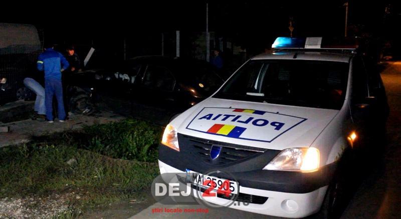 Accident fost politist beat Gherla (2)