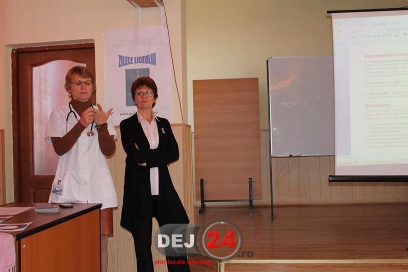 Campanie cancer la san Liceul Tehnologic Constantin Brancusi Dej (2)