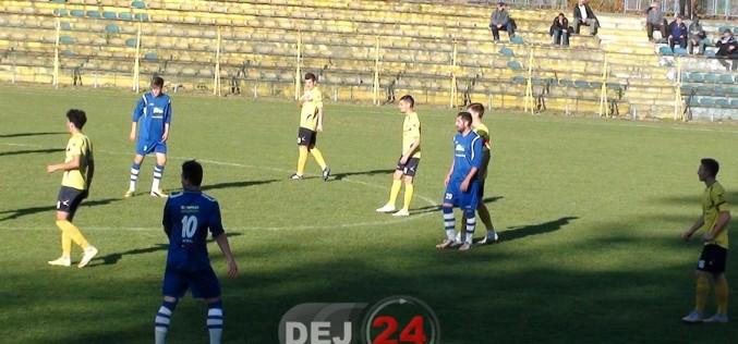 FOTBAL. FC Unirea Dej – FC Zalău 2-2. Uniriștii au revenit de la 0-2
