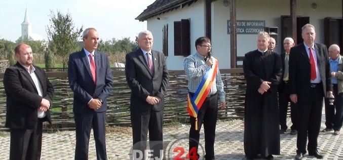 Trei inaugurări în Cuzdrioara: Centru de Informare Turistică, terenuri de sport și parc – FOTO/VIDEO
