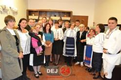 S-a inaugurat secția de ţesut-cusut tradiţional în comuna Căşeiu – FOTO