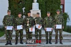 """Militar din Dej, LOCUL II la concursul """"Subofițerul/Soldatul anului"""" – FOTO"""