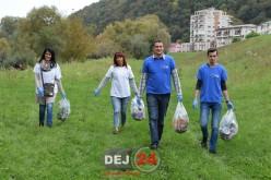Prima acțiune comună a TLDE și OFLDE Dej – FOTO/VIDEO