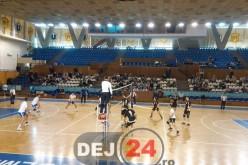 """VOLEI. """"U"""" Cluj – Unirea Dej 2-3 – GALERIE FOTO"""