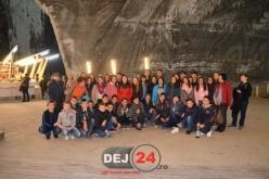 Elevi din Dej și Chiuiești, vizită la Salina Turda – FOTO