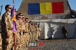 Militarii din Dej, detașați în Afganistan, au sărbătorit ieri Ziua Armatei României – FOTO