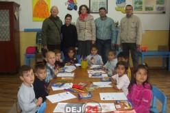Preșcolarii din Cuzdrioara și Mănășturel au primit daruri – FOTO