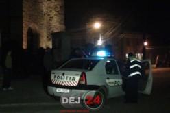 Bărbat din Mintiu-Gherlii, reținut de polițiști după ce i-ar fi spart fostei iubite geamurile de la casă