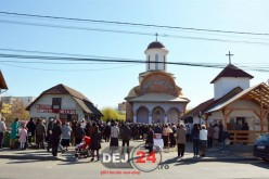 După 5 ani, biserica de pe strada Crângului din Dej își deschide ușa pentru credincioși