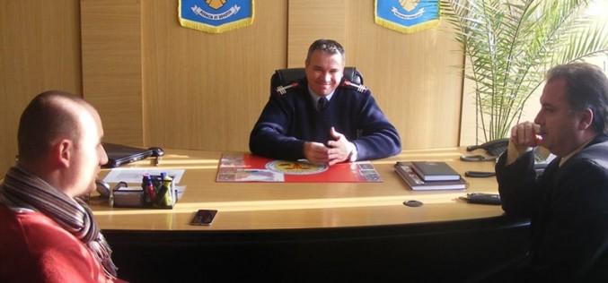 """Mihai Seplecan, vizită la ISU Cluj. Șeful județului a declarat că """"investiţiile vor continua"""" – FOTO"""
