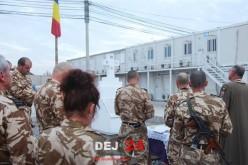 Militarii din Dej s-au rugat, de Luminație, din Afganistan, pentru cei decedați în București – FOTO