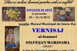 Expoziție de artă, săptămâna viitoare, la Muzeul Municipal Dej
