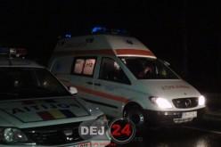Două mașini s-au izbit VIOLENT, la ieșire din Gherla