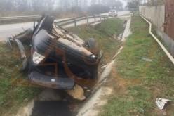 Accident în Ileanda. O femeie a fost rănită grav – FOTO