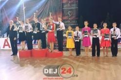 """Clubul de Dans Sportiv """"Latino Angels"""" Dej se mândrește cu CAMPIONI NAȚIONALI – FOTO"""