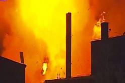 EXPLOZIE urmată de incendiu, în Brașov. COD ROȘU, declarat de Arafat