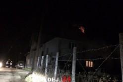 Incendiu în Cuzdrioara. Au intervenit pompierii din Dej – FOTO