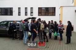 UMANITAR. Elevii CNAM Dej, alături de persoanele vârstnice din Policlinica Dej – FOTO