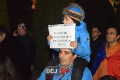 LIVE – Valul de PROTESTE a ajuns și la Dej. Oamenii AU IEȘIT ÎN STRADĂ! – FOTO/VIDEO