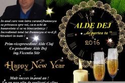 """Vicențiu Știr, co-președinte ALDE Dej: """"Un an plin de realizări și clipe minunate alături de cei dragi!"""""""