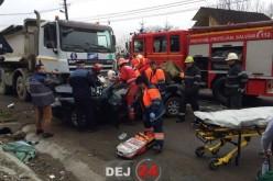 ACCIDENT MORTAL în Dej. Un tânăr și-a pierdut viața – FOTO/VIDEO