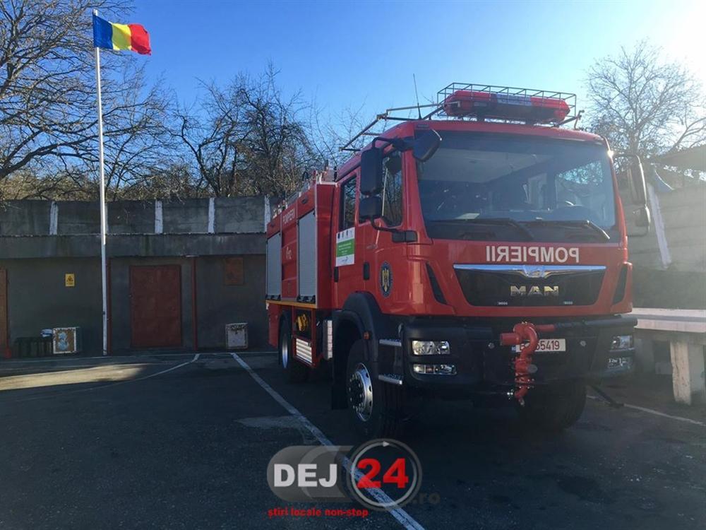 Autospeciala noua Detasamentul de Pompieri Dej (3)