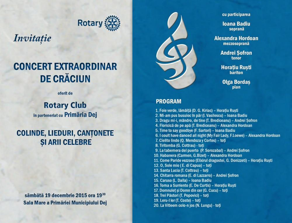Concert Craciun Rotary