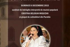 Concert de colinde la Pintic. Invitat special – Cristina Beldean Moșuțan