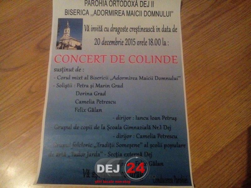 Concert de colinde Dej