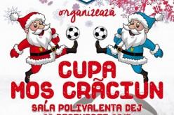 """""""Cupa Moș Crăciun"""", mâine, la Sala Sporturilor din Dej. Evenimentul este organizat de Academia de Fotbal Paul Papp"""