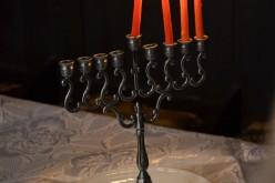 Sărbătoarea luminilor (Hanuka), celebrată de evreii din Dej – FOTO