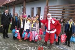 TSD Dej a oferit cadouri copiilor de la Centrul de Zi Familia și Copilul din Dej – FOTO