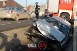 ACCIDENT rutier în Ciceu-Mihăiești. Două persoane au fost RĂNITE – FOTO/VIDEO