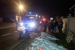 Accident în Răscruci. Bărbat lovit de mașină – FOTO/VIDEO