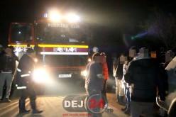 Bărbat prins sub pământ, în Livada. Pompierii din Dej l-au eliberat înainte de a fi prea târziu – FOTO