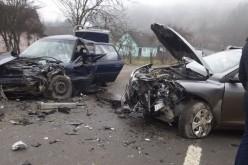 GRAV ACCIDENT la Mocod: PATRU PERSOANE din Dej au ajuns la spital – FOTO