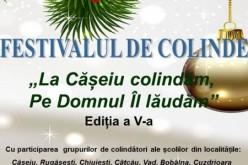 Festival de colinde, joi, la Căminul Cultural Cășeiu