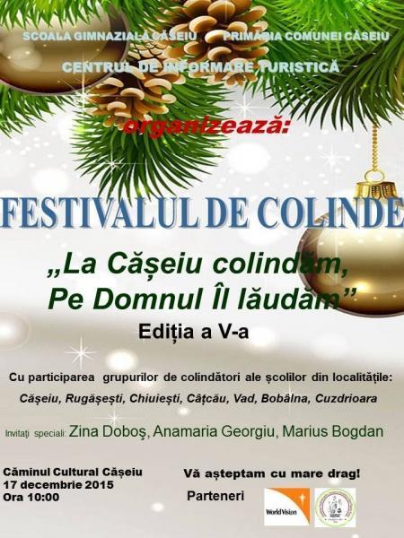 festival colinde Caseiu