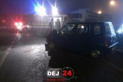 DEJ   Încă un ACCIDENT la intersecția străzilor Crângului cu Vâlcele – FOTO/VIDEO