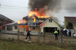 Ajutor financiar acordat de CL Dej pentru refacerea locuinței distruse de incendiu