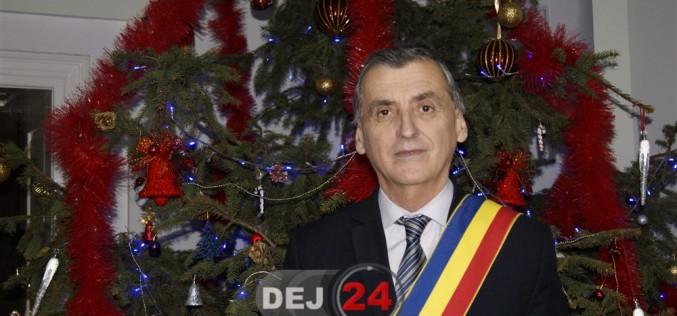 """Primarul municipiului Dej urează """"Un an nou fericit"""", tuturor dejenilor"""