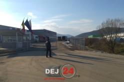 Bărbat din Dej, transportat la spital după ce a căzut de la înălțime – FOTO/VIDEO