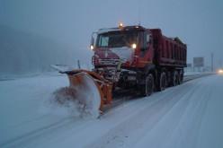Circulație în condiții de iarnă pe drumurile din județul Cluj