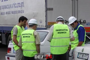 Inspecția muncii, amenzi de 400.000 de euro, în doar 5 zile