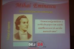 """Ziua poetului Mihai Eminescu, marcată la Liceul Tehnologic """"Constantin Brâncuși"""" Dej"""