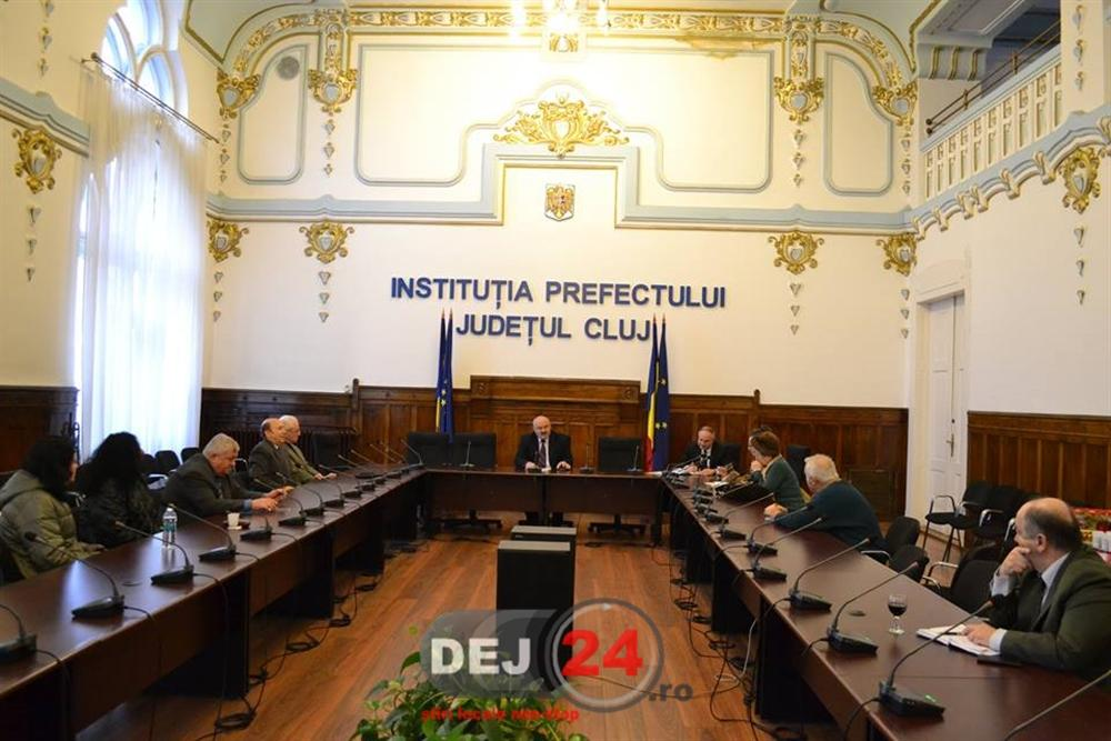 Sedinta prefect Cluj Vuscan