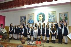 Ziua lui Mihai Eminescu, sărbătorită la școala din Dej care poartă numele poetului – FOTO