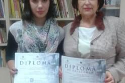 """Mențiune obținută de o elevă din Dej la """"Școala Ardeleană și valorile europene"""" – FOTO"""